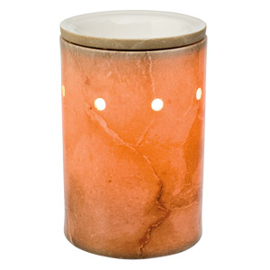 Travertine Core Scentsy Warmer and Wrap