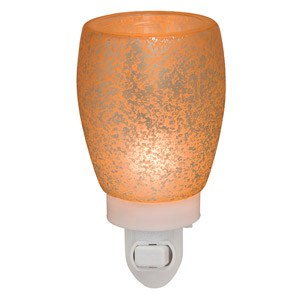 Scentsy Cream Glass Nightlight Warmer