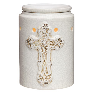 Antique Cross Scentsy Warmer