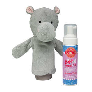 Halla the Hippo Scentsy Scrubby Buddy