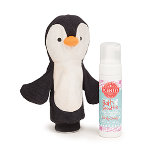 Percy the Penguin Scentsy Scrubby Buddy
