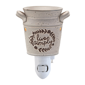 Scentsy Live Simply Mini Warmer