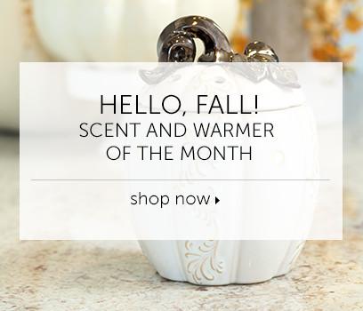Pumpkin Warmer of the Month