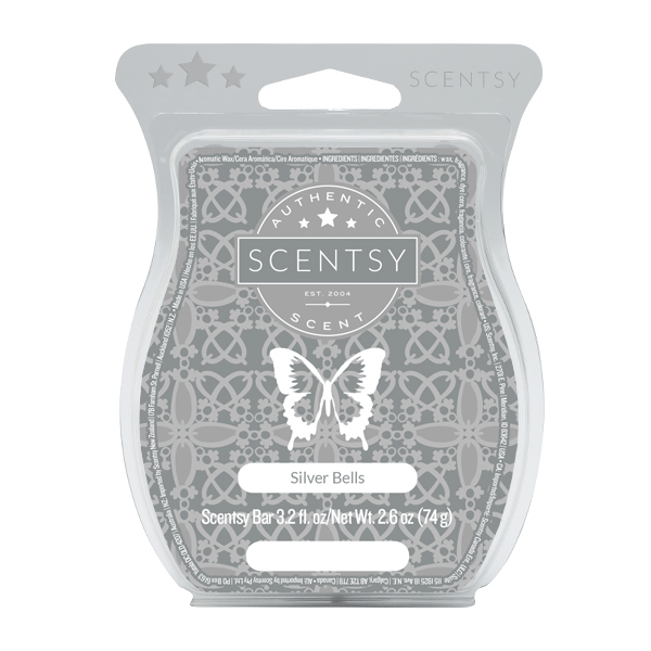 Silver Bells Scentsy Wax Bar