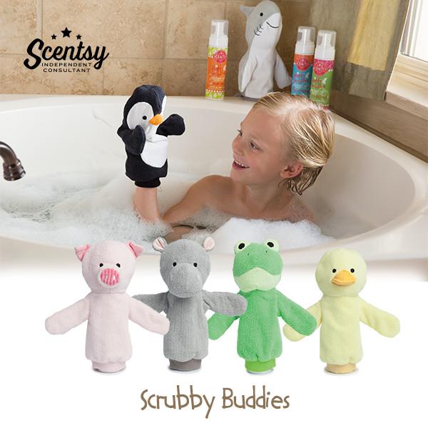 Scentsy Scrubby Buddies