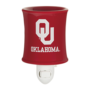 Scentsy University of Oklahoma nightlight warmer