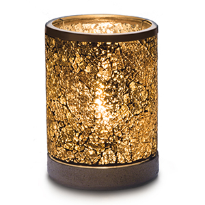 Scentsy Warmer - Gold Crush