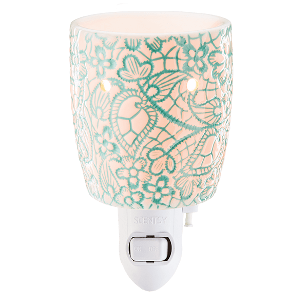 Scentsy Chantilly Lace Mini Warmer