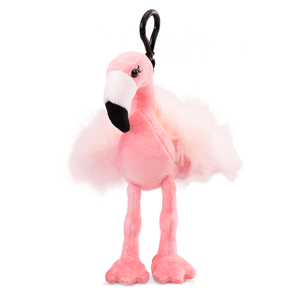 Farah the Flamingo Scentsy Buddy Clip