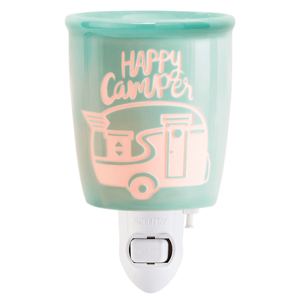Scentsy Happy Camper Mini Warmer