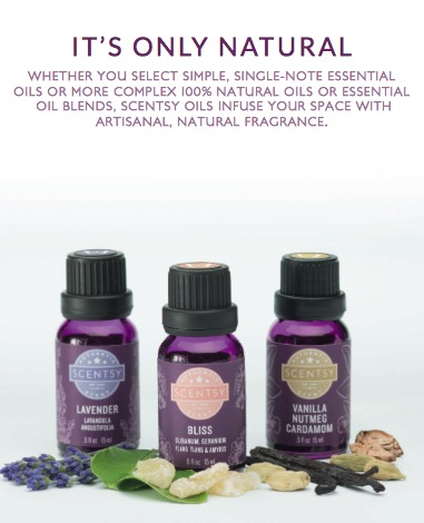 Scentsy Natural & Essential Oils