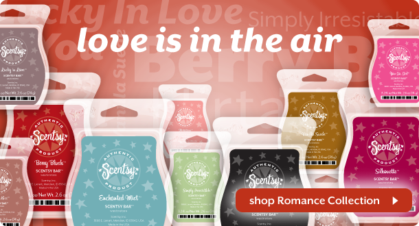 Scentsy valentines gift