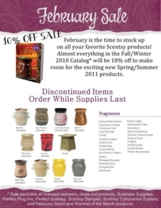 discounted Scentsy