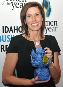 Scentsy president Heidi Thompson