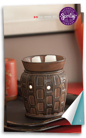 Canada Scentsy Catalogue Autumn 2011