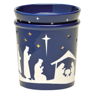 Scentsy Nativity Christmas Warmer