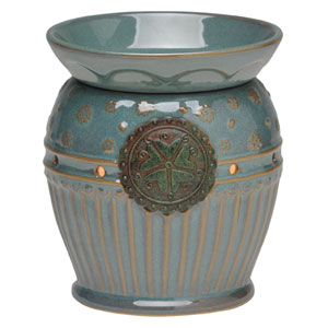 Victoria Turqouise Full-size Scentsy Warmer