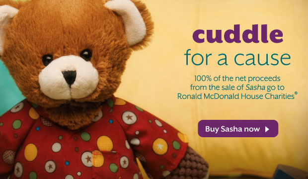 Sasha Charitable Cause Scentsy Buddy