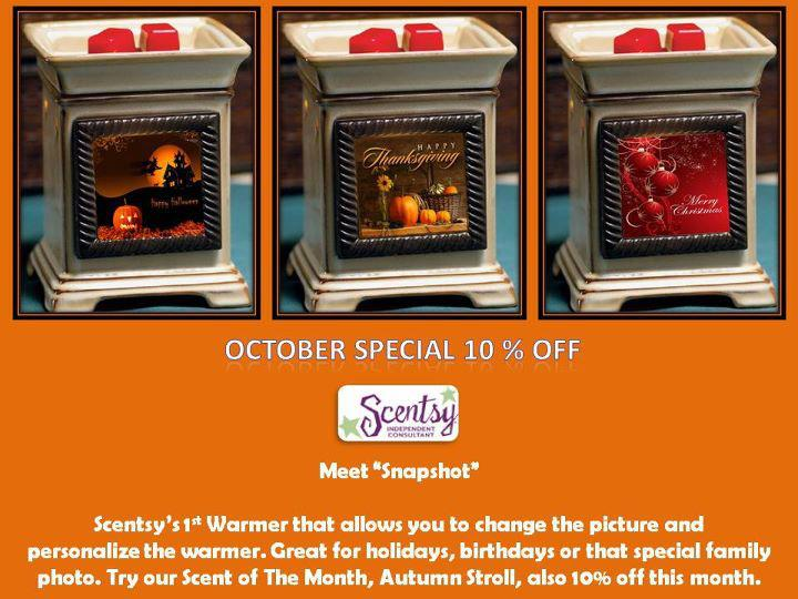 Scentsy Warmer of the Month