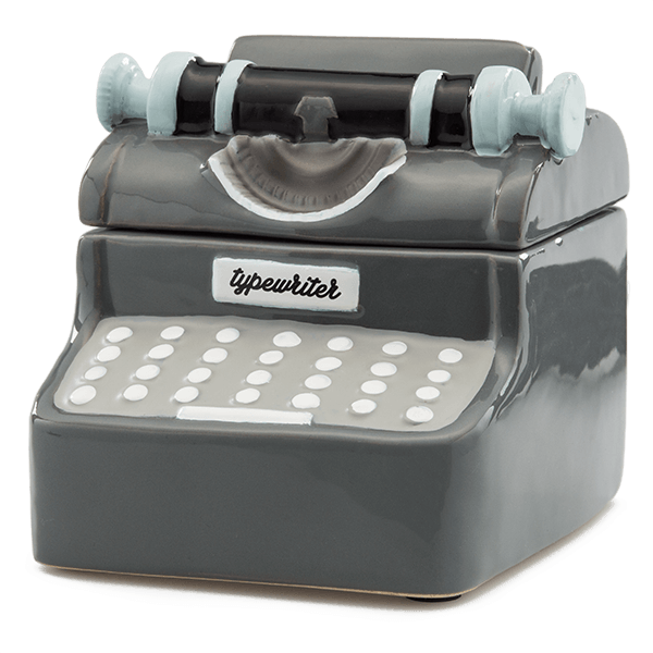 Scentsy Typewriter Warmer of the month buy online