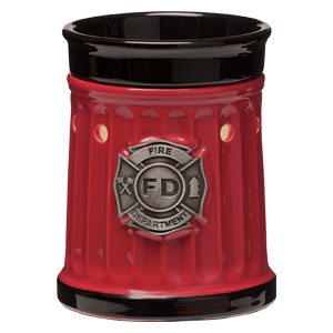 Scentsy Hero Collection Firefighter Fire Department Warmer