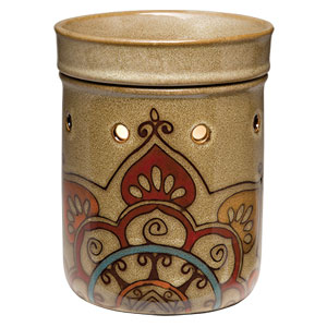 Scentsy Mandala India Premium Full-size warmer