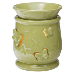 Butterfly green Scentsy Warmer