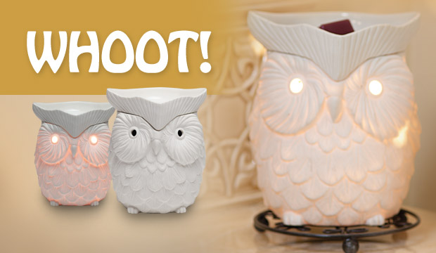 Owl Scentsy Warmer of the Month August 2012