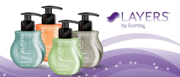 Scentsy Hand Soap Layers