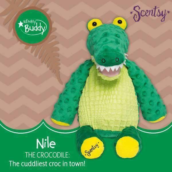 Crocodile Nile Scentsy Buddy