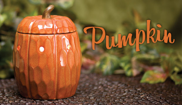 Pumpkin Scentsy Warmer of the Month September
