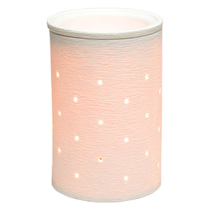 Scentsy Etched Core Glowing Warmer