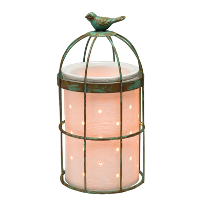 Scentsy Bird Cage Wrap Silhouette Warmer