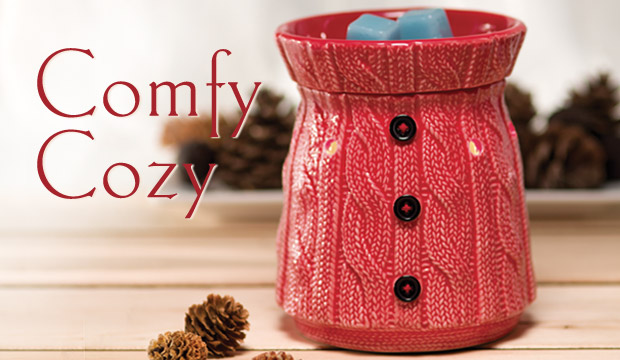 Comfy Cozy Sweater Scentsy Warmer Of The Month December