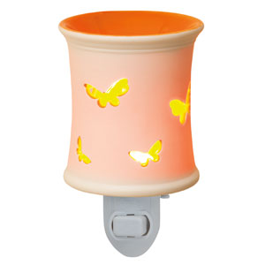 Lacewing butterfly orange Plug-In Scentsy Warmer