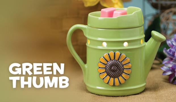 Scentsy Water Can Green Thumb Warmer