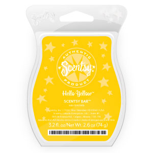 Scentsy Scent of the Month Hello Yellow March 2013