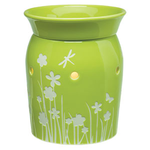 Scentsy Meadow Warmer green Mid-size Premium
