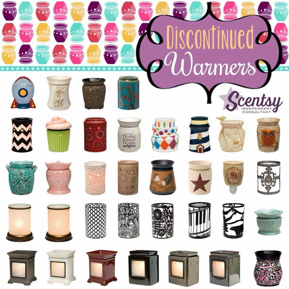 Scentsy Warmers 2015