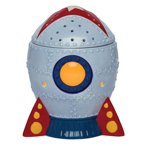 Rocket ship Scentsy Warmer
