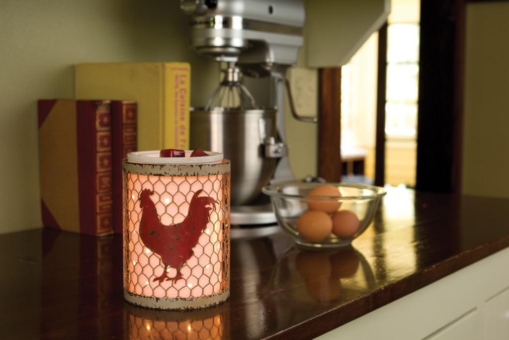 Coop Scentsy Warmer Chicken Wrap