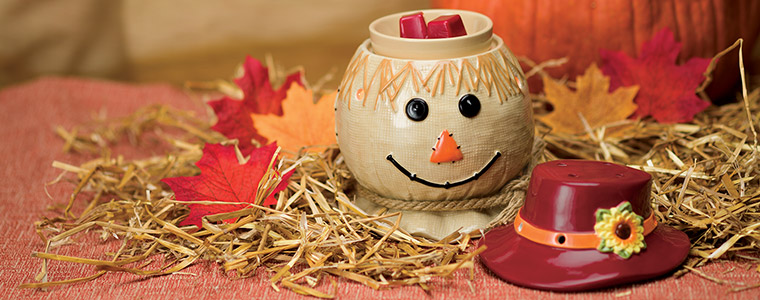 Scarecrow Scentsy Warmer of the Month October