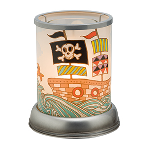 Pirate Ship Scentsy Warmer Lampshade
