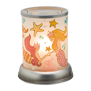 Mermaid Scentsy Lampshade Warmer