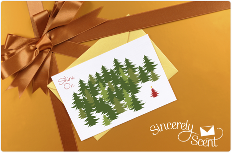 Scentsy Sincerely Scent Christmas cards