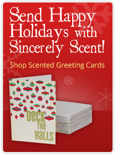 Sincerely Scent Scentsy Christmas Cards