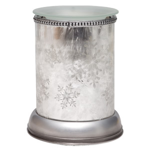 Silver Frost Snowflake Scentsy Warmer