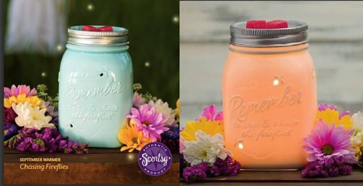 Fireflies Mason Jar Scentsy Warmer