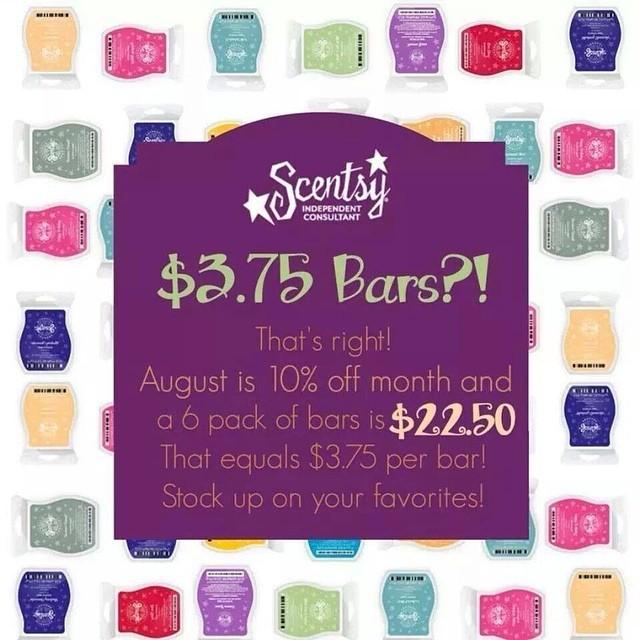 Scentsy Annual Sale