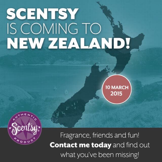 New Zealand Scentsy launch